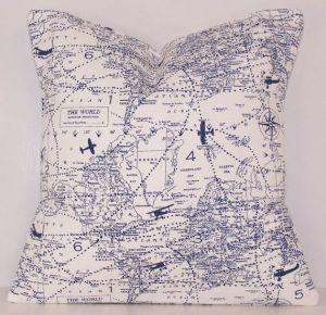 map cushion